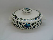 "Vintage Retro Midwinter Pottery ""Spanish Garden"" Serving Dish with lid Tureen"