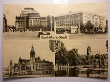 Antique German Postcard Karl-Marx-Stadt
