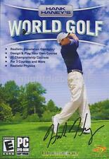 Hank Haney's World Golf - Classic PC Game - US Version - NEW