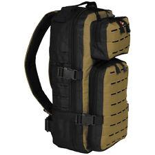 Fox Outdoor Assault-Travel Backpack 20L Fishing Travel Rucksack Black / Coyote