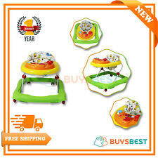 Red Kite Baby Walker Musical Electronic Play Tray Adjustable Height Jive Walkers