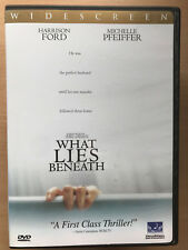 Harrison Ford What Lies Beneath 2000 Supernatural Horror US DTS Region 1 DVD