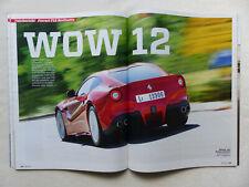 Ferrari F12 Berlinetta 740 PS - Fahrbericht - Auto Motor Sport Heft 18/2012