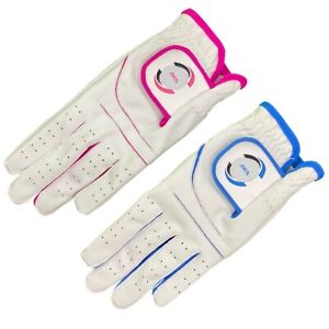 Ladies All Weather Golf Gloves with 100%Cabretta Leather Thumb &Palm Patch