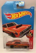 Hot Wheels '68 Dodge Dart 1968 8/10 HW Flames L Case Die Cast Car