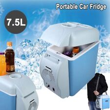 Portable Mini Car Fridge Freezer 12V 7.5L Cooler Warmer Refrigerator for Travel