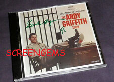 Andy Griffith Show CD signed Earle Hagen composer TV whistler theme song RARE !
