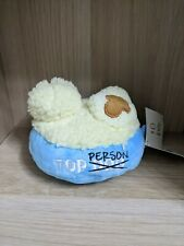 Brand New w/ Tag BarkBox Mashed Puptatoes Dog Toy M-L 20lbs + Squeaker & Crinkle