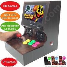 "9"" Screen NEW Z Series IV Arcade Machine 400 Video Games 32Bit CPU 4GB memory"