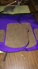 HORSESHOEING CHAPS/FARRIER SHOEING APRON/W/MAG/Purple/brn
