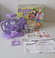 Super Badge It! making creative bandai kids toys fun learn girl boys craft metal