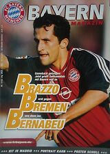 Programm 2001/02 FC Bayern München - Werder Bremen