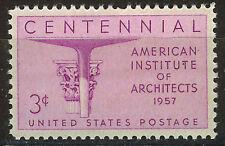 ESTADOS UNIDOS/USA 1957 MNH SC.1089 American Institute of Architects