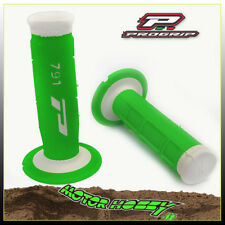MANOPOLE PRO GRIP CROSS ENDURO DOPPIA DENSITA' MOD 791 BIANCO VERDE FLUO