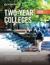 Two-Year Colleges 2014 (Peterson's Guide Two-Year Colleges), Peterson's, Very Go