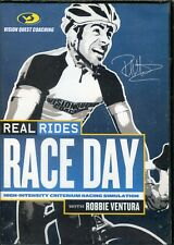 Real Rides Race Day with Robbie Ventura 8-Week Training DVD Brand New Sealed NIB