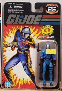 "G.I. Joe 25th Anniversary: Cobra Leader - Cobra Commander 3.75"" Figure"