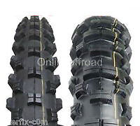 """Road Legal Enduro Tyres 90/90-21 - 120/90-18 """" - 120 90 18 Tyre Tire Tires"""