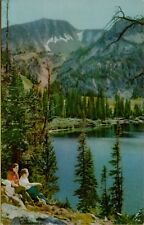 76 Union Oil Company Gasoline Wallowa Mountains OR Scenes of West Postcard B42