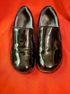 Alegria 35 Black Patent Leather Slip On Shoe