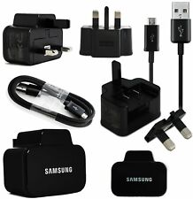 Samsung UK Wall Mains Charger with USB Cable for Samsung Galaxy S4 S5 S6 Note 3