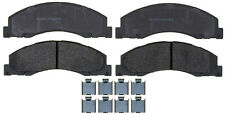 Semi Metallic Disc Brake Pad fits 2008-2016 Ford E-350 Super Duty E-150,E-250  A