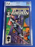 CGC Comic graded 7.5 The Punisher Marvel  #1  Key issue