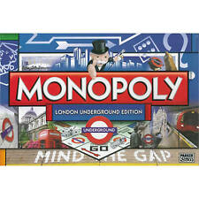 Monopoly London Underground Tube Edition Family Board Game Sealed Christmas