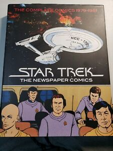 STAR TREK THE NEWSPAPER COMICS VOL 1 1979-1981 HC IDW