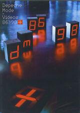 Depeche Mode : Videos 86 - 98 (2 DVD)