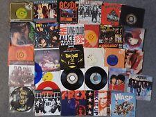 "29x Rock / Metal 7"" Vinyl Bundle AC/DC Motorhead Deep Purple Stones Kiss Maiden"