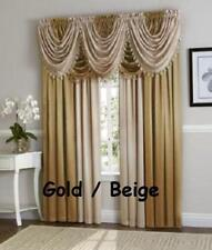 Luxurious Hyatt WINDOW TREATMENT,window curtain Panel or valance **SOLD SEPARATE