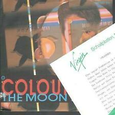 """COLOURBOX Moon Is Blue 7"""" VINYL Germany Virgin 1985 With Promo Info Sheet"""