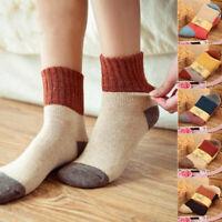 Women Socks Winter Warm Thicken Socks Wool Home Snow Boots Cotton Ladies