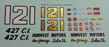 Custom 1/32 Dan Gurney Ford Galaxie Decal Set