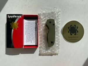 Spyderco Lil' Native OD CTS-204P C230GPODFDE REC Exclusive NEW