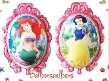 Disney Princess Ariel Little Mermaid Snow White Balloons Birthday Party 65cm