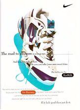 1995 Nike Air Raceway Running Shoes Retro Print Ad Vintage Advertisement VTG 90s