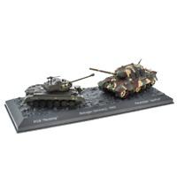 """World of Tanks LV03 M26 Vs Panzerjager """"Jagdtiger"""" Remagen 1945 1:72 Scale"""