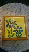 Hand-painted Portuguese Ceramic Multi-Use Trivet Tile - Various Colors