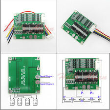 4S 30A 12.8V w/Balance BMS Protection PCB Board for 18650 LiFePo4 LiFe Battery