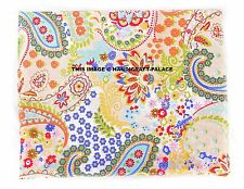 Indian Decorative Material Paisley Cotton Fabric Craft Sewing By 5/10 Metre Boho