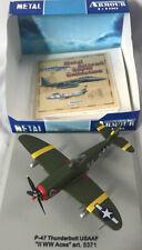 "Armour Collection #5371 ~ P-47 Thunderbolt USAAF ~ ""II WW ACES"" ~ 1:100 Die Cast"