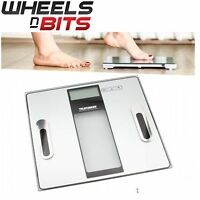 150KG Digital Bathroom Body Fat Weight Scale Calories Muscle BMI Water Bone Mass