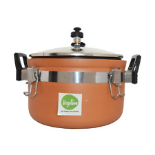 Orgolove Earthenware/ Clay / Terracotta Cooker 3ltr with Lid