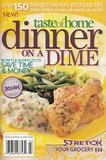 DINNER ON A DIME TASTE OF HOME COOKBOOK 2008 RECIPE CARD SECTION CAJUN MACARONI