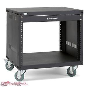 Samson SRK8 Universal 8U Rack Stand 8 Space 19-Inch Equipment SASRK8