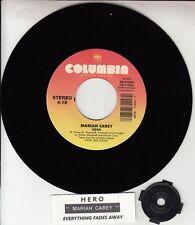 "MARIAH CAREY Hero & Everything Fades Away 7"" 45 rpm vinyl record NEW RARE!"