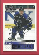 1999-00 Upper Deck MVP Stanley Cup Edition Silver Script 86 Bryan Smolinski