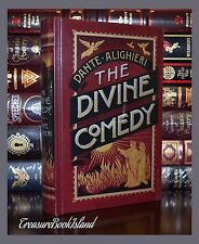 Divine Comedy Dante Alighieri Illustrated New Sealed Leather Bound Collectible